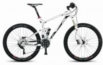 KTM Lycan mountainbike váz szett 27,5 kerék kell bele (fehér fekete) 2014-es mod
